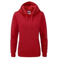 Russell Athletic Ladies Authentic Hooded Sweat - Red * Kampagne *