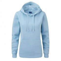 Russell Athletic Ladies Authentic Hooded Sweat - Skyblue * Kampagne *