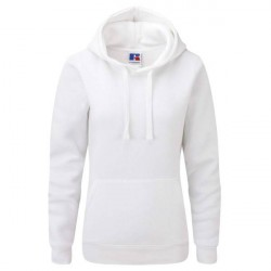 Russell Athletic Ladies Authentic Hooded Sweat - White * Kampagne *