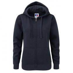 Russell Athletic Ladies Authentic Zipped Hood - Darkblue * Kampagne *