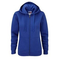 Russell Athletic Ladies Authentic Zipped Hood - Royalblue - Small