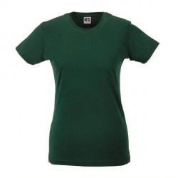 Russell Athletic Ladies Slim Fit T - Darkgreen * Kampagne *