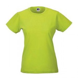 Russell Athletic Ladies Slim Fit T - Light green - X-Small