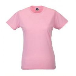 Russell Athletic Ladies Slim Fit T - Lightpink * Kampagne *