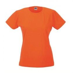 Russell Athletic Ladies Slim Fit T - Orange * Kampagne *