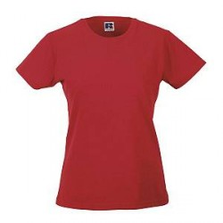 Russell Athletic Ladies Slim Fit T - Red - Small
