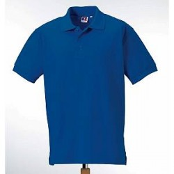 Russell Athletic M 100% Cotton Durable Polo - Blue - X-Small
