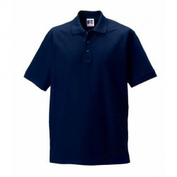 Russell Athletic M 100% Cotton Durable Polo - Darkblue * Kampagne *
