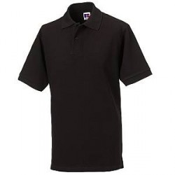 Russell Athletic M Classic Cotton Polo - Black - Small