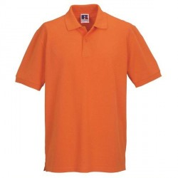 Russell Athletic M Classic Cotton Polo - Orange * Kampagne *