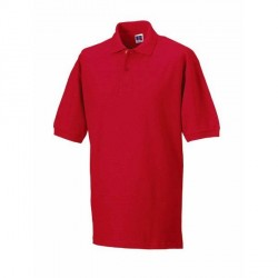 Russell Athletic M Classic Cotton Polo - Red * Kampagne *