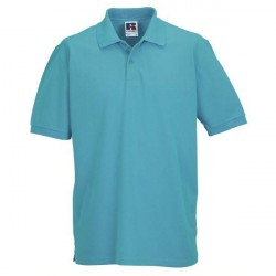 Russell Athletic M Classic Cotton Polo - Turquoise * Kampagne *