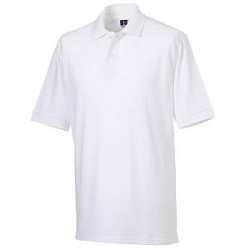 Russell Athletic M Classic Cotton Polo - White - Large