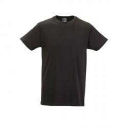 Russell Athletic Mens Slim Fit T - Black * Kampagne *