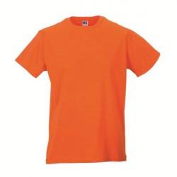 Russell Athletic Mens Slim Fit T - Orange * Kampagne *