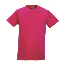 Russell Athletic Mens Slim Fit T - Pink * Kampagne *