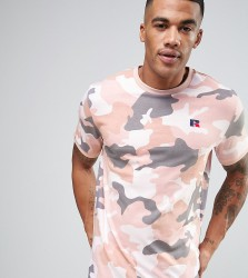 Russell Athletic T-Shirt in Camo - Green