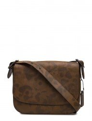 Saddle Bag 33 In Wild Beast Leather