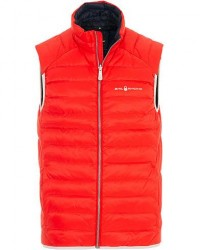 Sail Racing Link Down Vest Bright Red men S