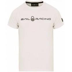 Sail Racing Race Logo Tee White