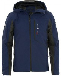 Sail Racing Reference Team Hooded Shell Jacket Storm Blue men S Blå
