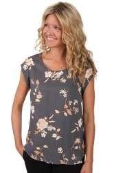 Saint Tropez - Bluse - Blouse With Flower Print - Iron