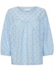 Saint Tropez - Langærmet Skjorte - Chambray Blue