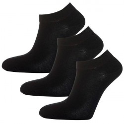Salming 3-pak No Nonsense W Low Socks 800114 - Black * Kampagne *