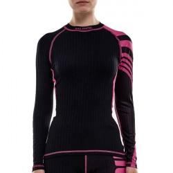 Salming Baselayer LS Tee Women - Black/Pink * Kampagne *