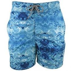Salming Blaise Original Long Shorts - Turquoise Patt * Kampagne *