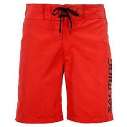 Salming Charlie Swim Boardshorts - Red - Small