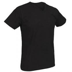 Salming No Nonsense M V-neck T-shirt 850135 - Black - Large