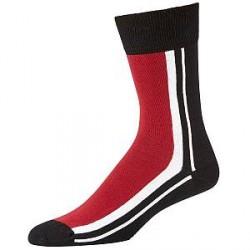 Salming Trainer Socks - Black/Red * Kampagne *