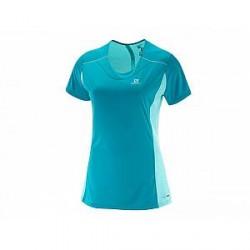 Salomon T-Shirt AGILE SS TEE W Enamel (damer)