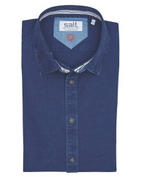 Salt Salt 3100291 neck trim (Mørkeblå, LARGE)