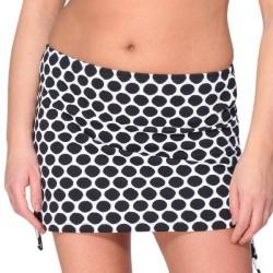 Saltabad Napoli Skirted Bikini Brief - Black/White * Kampagne *