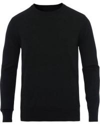 Samsøe & Samsøe Flemming Superfine Merino Wool Crew Neck Black men L Sort