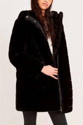 Samsøe Samsøe - Jakke - Saba Long Jacket - Black