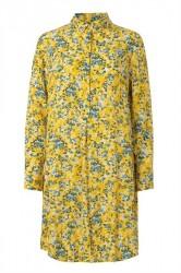Samsøe Samsøe - Kjole - Hamiti Shirt Dress - Soleil Jardin