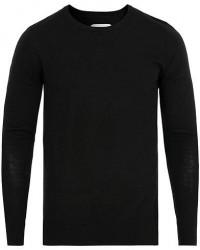 Samsøe & Samsøe Loke Superfine Merino Wool Crew Neck Black men M