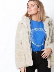 Samsøe Samsøe Saba jacket 7309 Faux Fur Beige