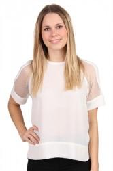 Samsøe Samsøe - T-shirt - Mouton - Clear Cream