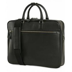 Sandqvist Dag Leather Briefcase Black