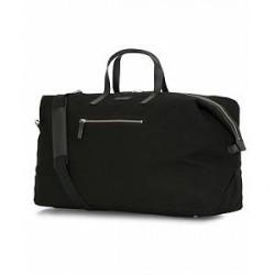 Sandqvist Damien Grand Organic Cotton Canvas Weekendbag Black