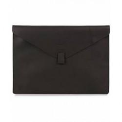 "Sandqvist Gustav Leather 13"" Laptop Case Black"