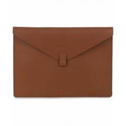 "Sandqvist Gustav Leather 13"" Laptop Case Cognac Brown"