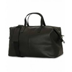 Sandqvist Holly Vegetable Tanned Leather Weekendbag Black