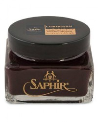 Saphir Medaille d'Or Cordovan Creme 75 ml Burgundy men One size Rød,Brun