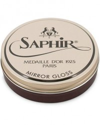 Saphir Medaille d'Or Mirror Gloss 75 ml Burgundy men One size Brun,Rød