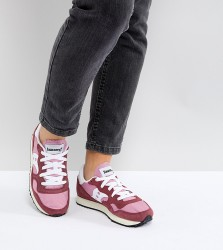 Saucony Dxn Vintage Trainers In Red And Pink - Red